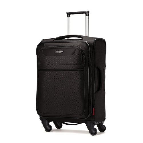 Samsonite Lift Spinner 21  Inch Expandable Wheeled Luggage, Black, One Size by Samsonite