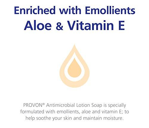 PROVON Antimicrobial Lotion Soap with 0.3% PCMX, Citrus Clean Fragrance, 1 Gallon Lotion Soap Pour Bottle (Case of 4) - 4216-04 by Provon (Image #2)