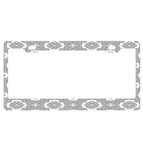 license plate frame celtic knot - 9