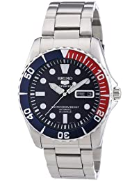 Seiko 5 Sports Silver Watch SNZF15K1