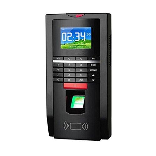 RFID biométrica y huella dactilar y contraseña de seguridad entrada puerta de control de acceso terminal by MENGQI-CONTROL