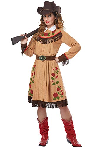 California Costumes Women's Cowgirl-Annie Oakley-Adult Costume, Tan, X-Small -