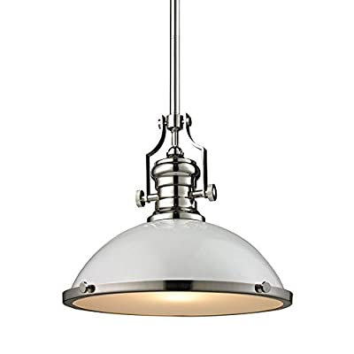 Elk Lighting 66516-1 Ceiling-Pendant-fixtures, White