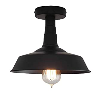 Vendimia sala Corredor Lámpara de techo Rústico Industrial ...