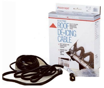 Easy Heat 240' 1200 Watts 120 V Roof/gutter Deicer Cable (Gutters For Heat Cable)