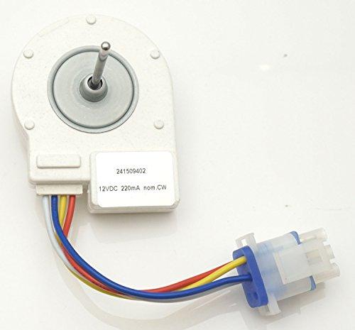 Siwdoy 241509402 Evaporator Fan Motor for Frigidaire Electrolux Kenmore Refrigerator AP3958808 PS1526073 241509401 by Siwdoy