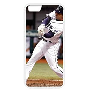 MLB iPhone 6 White Tampa Bay Devil Rays cell phone cases&Gift Holiday&Christmas Gifts NBGH6C9125576