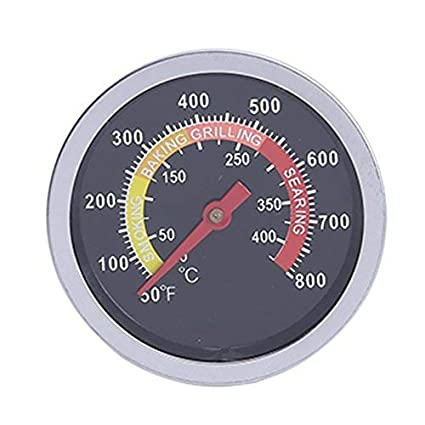 Starnearby Termómetro para estufa de barbacoa de acero inoxidable: Amazon.es: Hogar