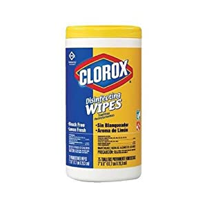 Best Epic Trends 4176HONfVHL._SS300_ Clorox 158-01594 Disinfecting Wipes, Lemon 35 Count (Pack of 12)