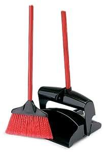 Amazon Com Libman Lobby Broom Amp Dust Pan Closed Lid