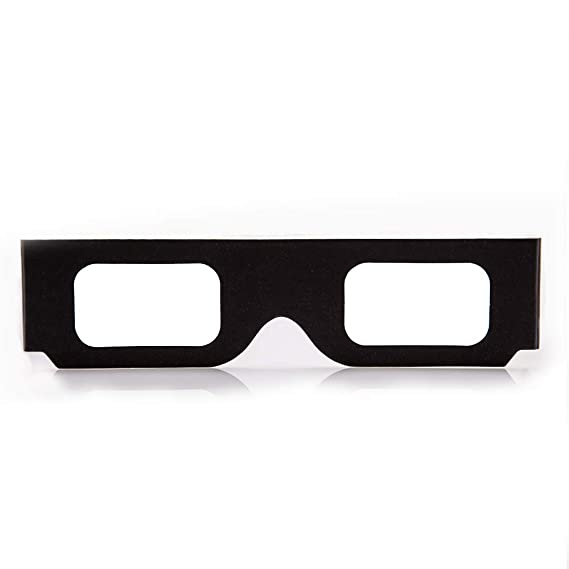 Occhiali Prisma 5 Pack di di Carta Diffrazione GloFX Luce Nero qwYUzn