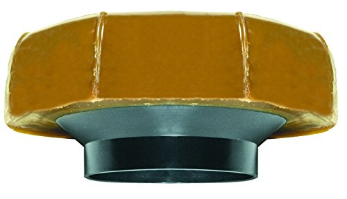 Flange Gasket Toilet - Fluidmaster 7513 Extra Thick Wax Toilet Bowl Gasket with Flange, for 3-Inch and 4-Inch Waste Lines