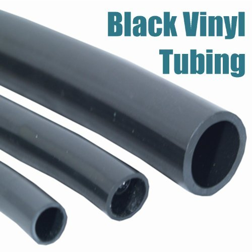 Patriot Black Vinyl Tubing .75