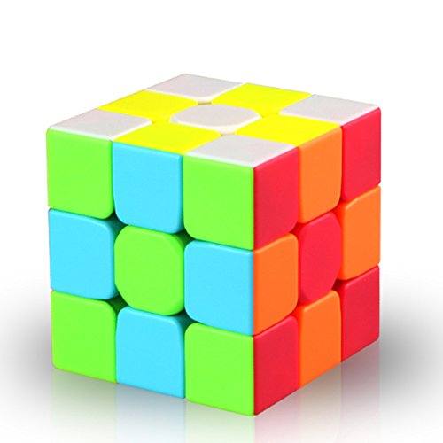 Darius Speed Cube Stickerless Magic Cube 3x3x3 Puzzles Toys
