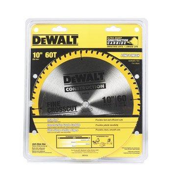 Dewalt DW3106 10 inch 60T Fine Finish Circular Saw Blade