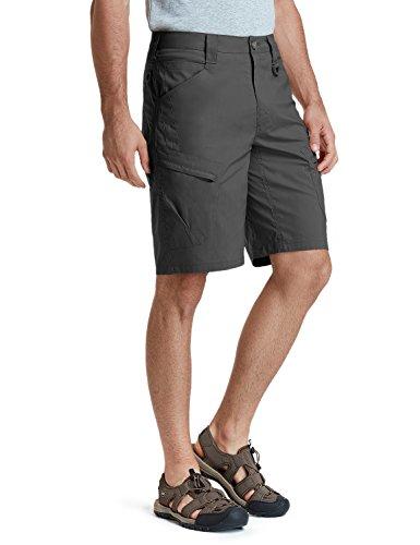 (CQR Men's Tactical Lightweight Utiliy EDC Cargo Work Uniform Shorts, Urban Driflex(txs410) - Charcoal, 32)