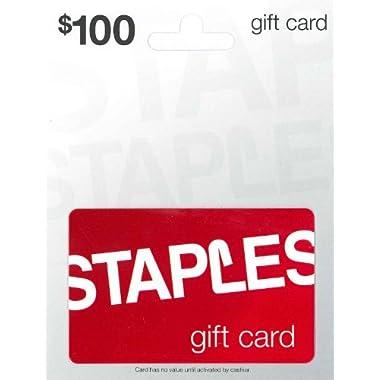 Staples Gift Card$100