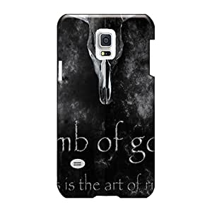 Shock-Absorbing Hard Phone Cover For Samsung Galaxy S5 Mini With Custom Beautiful Lamb Of God Pictures ErleneRobinson