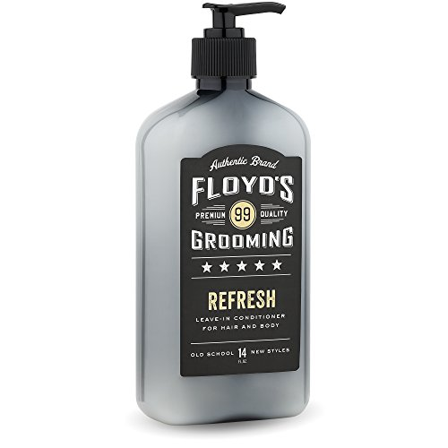 Floyd's 99 Refresh Hair and Body Conditioner - Moisturizing - Soothing - Calming - 14 oz. (Best Leave In Conditioner For Men's Hair)
