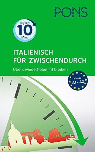 PONS Spanisch für Zwischendurch Taschenbuch – 29. Februar 2016 PONS GmbH 3125628261 Grundwissen Vokabeltrainer