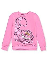 Cheshire Cat Big Girls' Fleece Sweatshirt
