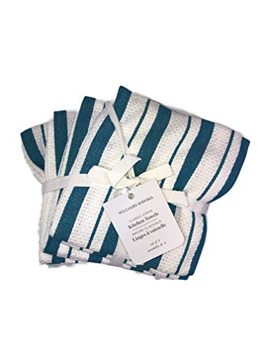 hen Towels (Set of 4) (Aqua) ()