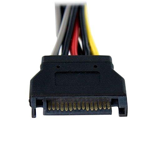 Sata Connector Splitter : Startech pyo sata in power y splitter cable