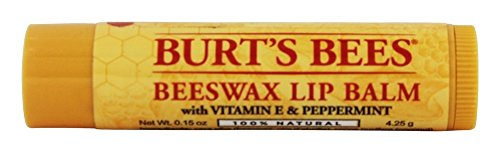 Burt's Bees Beeswax Lip Balm with Vitamin E & Peppermint 0.15 oz (Pack of 72) by Burt's Bees
