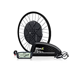 BionX, D 500 DV, Electronic assist system, 700C29'', Black V-Brake Rim, Black Spokes, 135mm axle