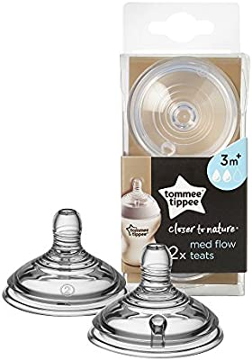 Tommee Tippee CLOSER TO NATURE ADVANCED COMFORT TEAT FAST FLOW BN