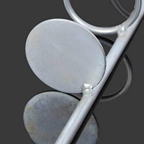 iplusmile 3Pcs釣り竿スタンドメタルシングルロッドホルダーラック立て竿置き竿掛け挿地式携帯式釣り道具収納30cm + 37Cm + 47Cm(銀)