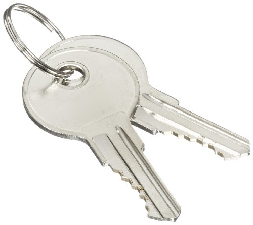 Justrite 25998 2 Piece Suregrip Safety Cabinet Handle Key Set
