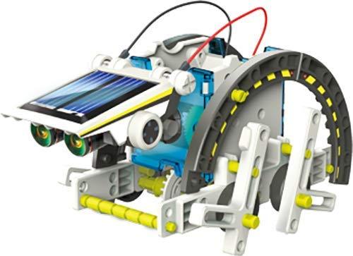 4176Nt1PFIL - Elenco Teach Tech SolarBot.14, Transforming Solar Robot Kit, STEM Learning Toys for Kids 10+