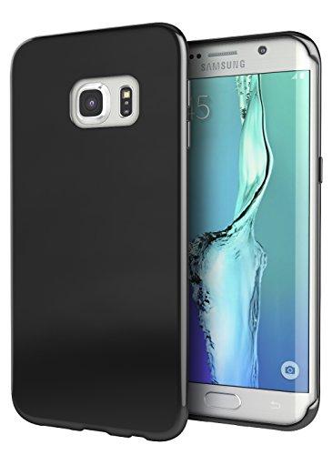 Galaxy S7 Edge Case, Cimo Premium Slim Fit Flexible TPU Case for Samsung Galaxy S7 Edge - Black