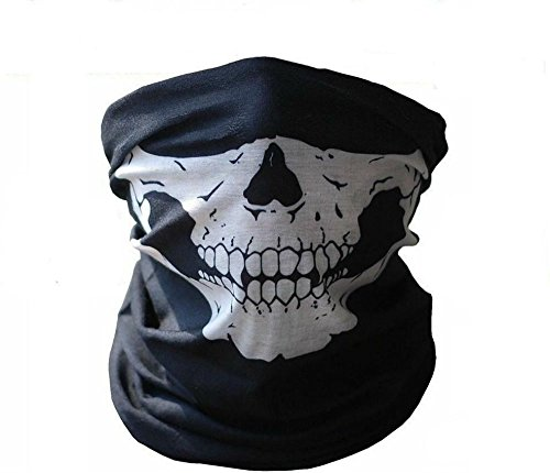 Skeleton Ghost Skull Face Mask Biker Balaclava Call of Duty COD Costume Game Call of Duty Ghost Balaclava Logan Skull Face Mask Hood ()