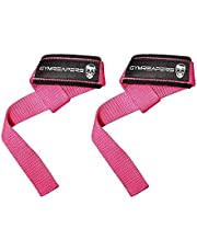 Gymreapers Lifting Wrist Straps for Weightlifting, Bodybuilding, Powerlifting, Strength Training, Deadlifts - Padded Neoprene with 18 inch Cotton