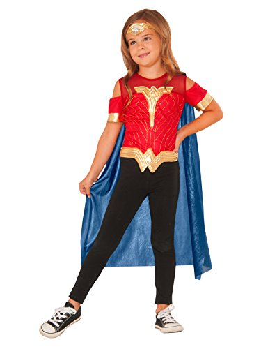 Imagine by Rubies Wonder Woman Child's Costume Shirt with Cape & Tiara (Wonder Woman Costumes Little Girl)