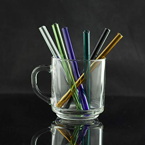 - FBG Glass Cocktail Drinking Straw 5.5