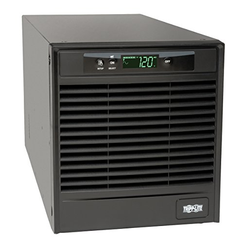 Tripp Lite SmartOnline 120V 3kVA 2.7kW Double-Conversion UPS, Tower, Extended Run, Network Card Options, LCD, USB, DB9 (SU3000XLCD) 3000va Ups Battery