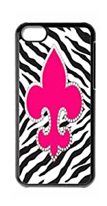 HeartCase Hard Case for Apple iPhone 5C ( Zebra Print Pattern )