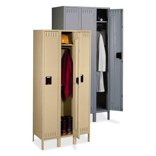 TENNSCO CORP. Single-Tier Locker, 3Wide w/Legs, 36