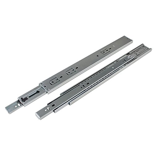 Probrico 16 Inch With Frame Cabinet Drawer Slides Soft Close Ball Bearing Rear Mount Drawer Slides Soft Closing Brackets Included 10 Pairs by Probrico (Image #2)