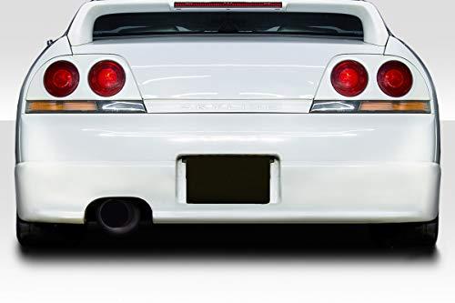 Duraflex Replacement for 1995-1998 Nissan Skyline R33 2DR N-1 Rear Bumper Cover - 1 - Body Duraflex 2dr R33