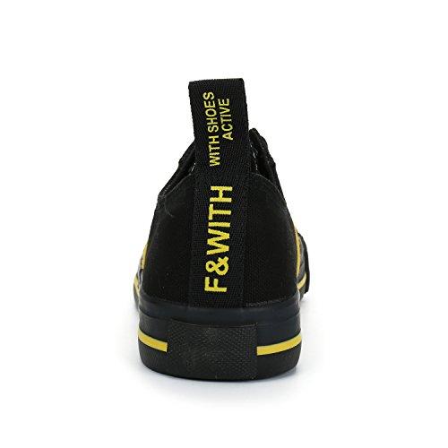 Alexis Leroy Dammode Sneakers Sneakers Snörning Tygskor Svart 39 M Eu / 8-8,5 B (m) Oss