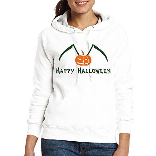 Jozie Women's Sweater Happy Halloween Ii Size XL White