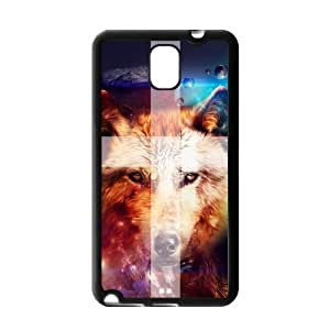 Cute Printed Howling Wolf Pattern Angry Wolves Werewolf case cover for Samsung Galaxy Note 3?
