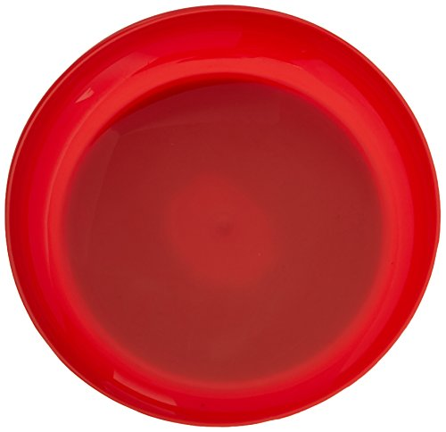 Red Round Scoop Dish, Unbreakable 8