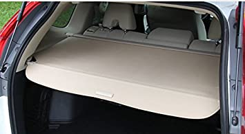 for with Power Rear GATE,NOT FIT for Base Model Kaungka Cargo Cover for 13-17 Acura RDX RDX Beige Trunk Shielding Shade