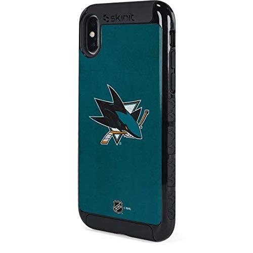 wholesale dealer 96611 4033a Amazon.com: San Jose Sharks Camo iPhone XS Case - National ...