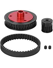 Gearbox Belt, Rubber Belt Gearbox Modified Gear Combination Fit for Axial SCX10 RC Car Model